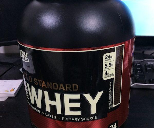 【レビュー】Optimum Nutritionのプロテイン、Gold Standardを飲んでみた【筋トレ】