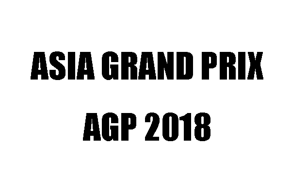 Asia Grand Prix 2018の結果 ハディ・チョーパンが212クラスで優勝!