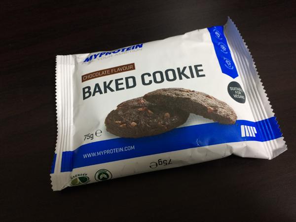 マイプロテインのベイクドクッキーを食べてみた