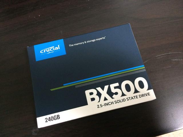 第4世代Corei7 4790KのデスクトップPCをHDDからSSDに換装