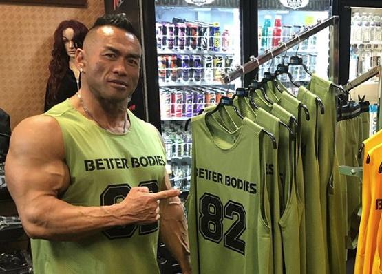 2019ミスターオリンピアで山岸秀匡選手は第8位