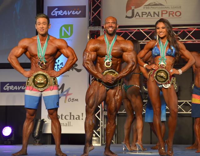日本開催のボディビル大会IFBB Japan Pro 2019の結果