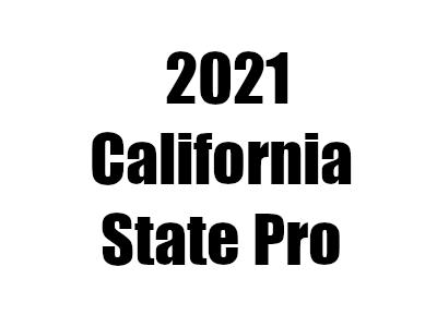 【ボディビル】2021カリフォルニアステートプロの結果