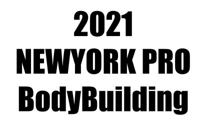 【ボディビル】2021ニューヨークプロの結果