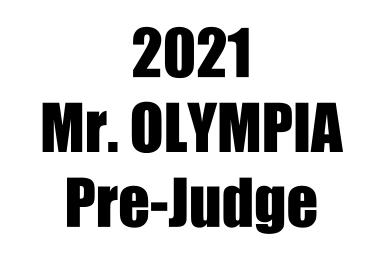 ミスターオリンピア2021予選を終えての感想